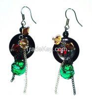 Fashion zircon earring