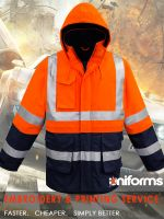 Mining Work Wear-Fire Armour Arc Rated Anti Static Waterproof Jacket