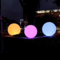 illuminated led light globe glowing ball
