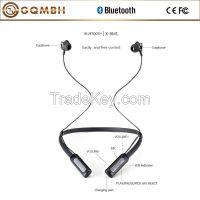 Hot sale HiFi stereo Bluetooth sports earphone with built-in mic