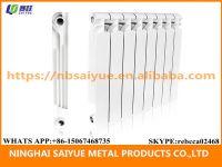 High purity aluminium die casting hot water room radiator