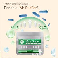 hot sale virus shut out VIRUS BLOCK OUT Disinfection Anti Virus Air Sterilization Card for School Office Bus