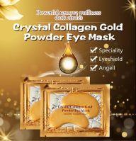 2020 Wholesale High Quality Wrinkle Removal Moisturizing Beauty Golden Eye Mask 24k Gold Collagen Crystal Eye Mask eye gel pads