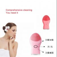 Deep face exfoliating cleaner brush electric facial cleansing brush