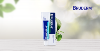 EUROPEAN EDITION - BRUDERM Promotes anti-inflammatory and fast relief effects.