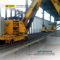 Factory Use Heavy Duty Rail Transport Vehicle Transfer Machine