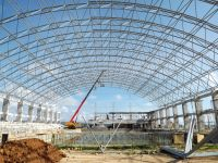 High quality steel space frame coal storage
