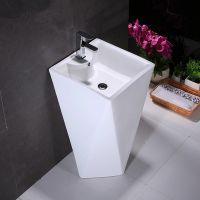 Good design ceramic big pedestal basin for sale