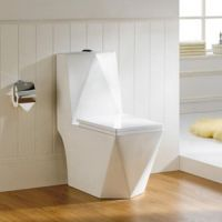 Chaozhou Competitve price ceramic one piece siphonic toilet