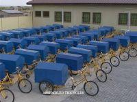 Assembled Tricycle/sanitation vehicle/Trishaw/Pedicab