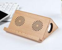 2017 new model wooden portable wireless bluetooth speaker