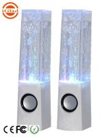 WATER DANCING LED LIGHT CUBOID WIRELESS BLUE TOOTH SPEAKER