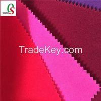 Flock fabrics for bags