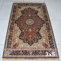 Oriental Handmade Silk Persian Carpets Price