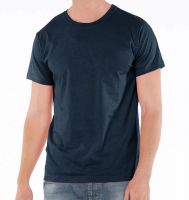 Men's T-shirt in pure combed Cotton