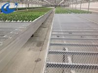 greenhouse expanded metal mesh bench, seedbed, plant grow table