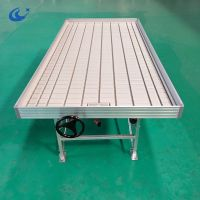 Ebb and Flow Tables Growing Benches Hydroponics Aquaponics