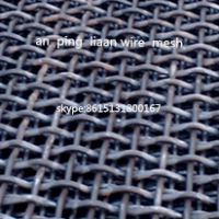 mining  screen  mesh /anping produce crimped wire mesh hot sales