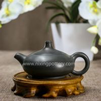 Chinese Qinzhou Nixing Pottery Pure Dust-free Sapphire Handmade Maestro Kungfu Tea Pot 120ml