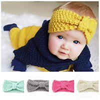 Best quality knitted baby girl headband