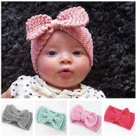 Cute kids headband handmade bow headband baby winter