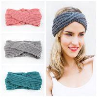 Hot sale winter headband woman fashion headband hair band headband