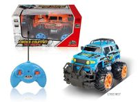Four way remote controlled off-road vehicle rc car