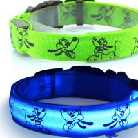 2017 new innovative products LED dog collars free sample