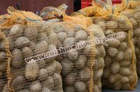 Raschel mesh bag for packing potatoes
