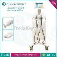 2017 New arrival hifu&vb&rf slimming machine with CE certification