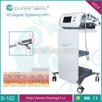 Woman Painless 3D Automatic Vaginal Tightening Machine Vaginal Hifu Fo