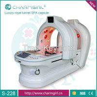 Far infrared slimming capsule/body spa machine with ozone therapy/ sli