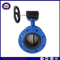 Flanged Body Style Butterfly Valve