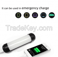 Mini Emergency Camping Portable For iphone x Charge Rechargeable
