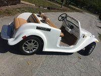 2016 acg california roadster Golf Cart Street Legal Lsv 4 passenger seat custom