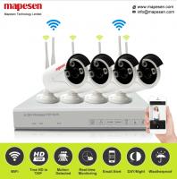 Mapesen 4CH Wireless HD 1080P 2.0MP WIFI NVR KIT