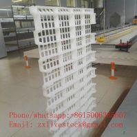 Poultry farm plastic slat floor
