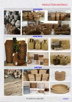 Handicraft, Indoor, Outdoor, Basket storage, Planter, Pot, Furniture, Decor