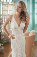 2017 Latest Design Gorgeous Chiffon Bridal Dress