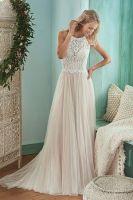 2017 Latest Design Gorgeous Bridal Dress With Net