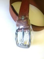 100% Pure Genuine Leather Brown Belt ( High Quality )
