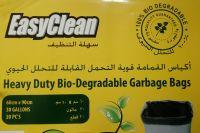 Black Garbage Bags 60*90CM 20 MIC-20 Bags Roll