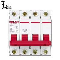 High Quality Delixi 4P Miniature Circuit Breaker DZ47s