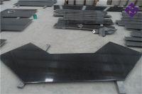 Popular Absolute Black Granite Slab & Tiles for Kitchen bathroom Countertop