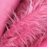 long pile faux fur long hair plush imitation skin artificial fur fabric fake fur