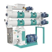 3-5tph sinking fish feed pellet machine widely used with low price
