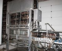 CRATE DESTACKER - LIVE BIRDS HANDLING - POULTRY PROCESSING EQUIPMENT