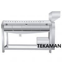 GIZZARD DEFATTING MACHINE - POULTRY EVISCERATION - POULTRY PROCESSING EQUIPMENT