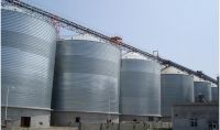 1000t wheat grain corn steel silo storage project China supplier in Fermented industry