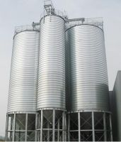 4000tons bolted storage silo steel silo for grain corn soybean
